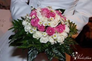 Bukiet ślubny, dekoracja sali, dekoracja kościoła, Kwiaciarnia, bukiety ślubne Żabno