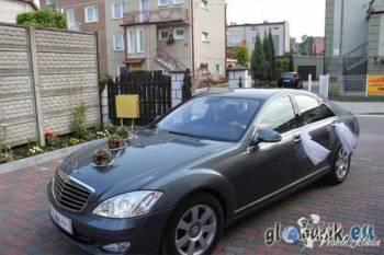 Mercedes Benz Klasa S Limuzyna Oryginalny kolor!!, Samochód, auto do ślubu, limuzyna Stąporków