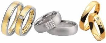 złote obrączki ślubne - Firma Jubilerska OMEGA -, Obrączki ślubne, biżuteria Chojnice