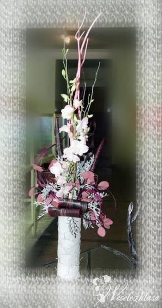 Bukiety Ślubne, bukiet dla Pani i gości, Kwiaciarnia, bukiety ślubne Kalety