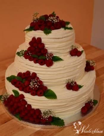 Torty okolicznościowe, Słodkie stoły, Tort weselny Trzebnica