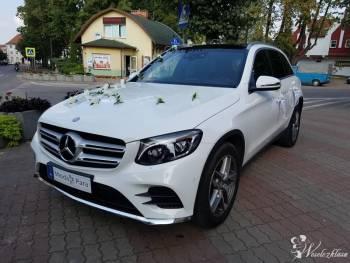 Przestronny i nowoczesny MERCEDES AMG GLC 250, Samochód, auto do ślubu, limuzyna Białystok