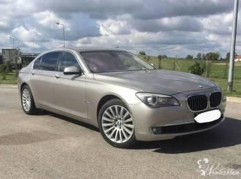 BMW 750Li , Samochód, auto do ślubu, limuzyna Daleszyce