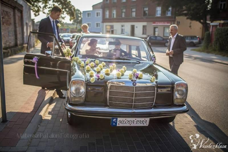 Auto do ślubu Mercedes W115, zabytek, Inowrocław - zdjęcie 1