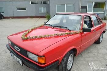 Samochód w stylu retro AUDI 80, Samochód, auto do ślubu, limuzyna Braniewo