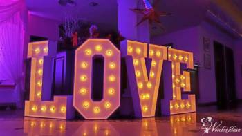 Napis Świetlny LOVE MIŁOŚĆ Sprzedaż Wynajem Dekoracja., Napis Love Bielsko-Biała