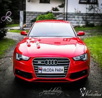 Piękne AUDI A5 sportback S-Line do ślubu!, Samochód, auto do ślubu, limuzyna Nowy Sącz