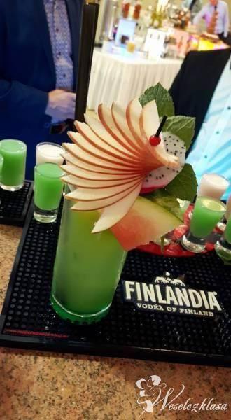 Weselny Drink Bar GastroStaff, Pokaz barmański na weselu Człuchów