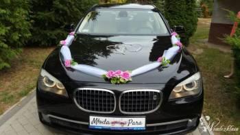 Piękne BMW 7 - Najwyższa klasa w niskiej cenie. , Samochód, auto do ślubu, limuzyna Pobiedziska