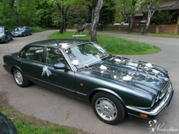 Królewski Jaguar dla wymagających, Samochód, auto do ślubu, limuzyna Szczawno-Zdrój