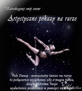 POLE DANCE - pokazy artystycznego tańca , Pokaz tańca na weselu Gogolin