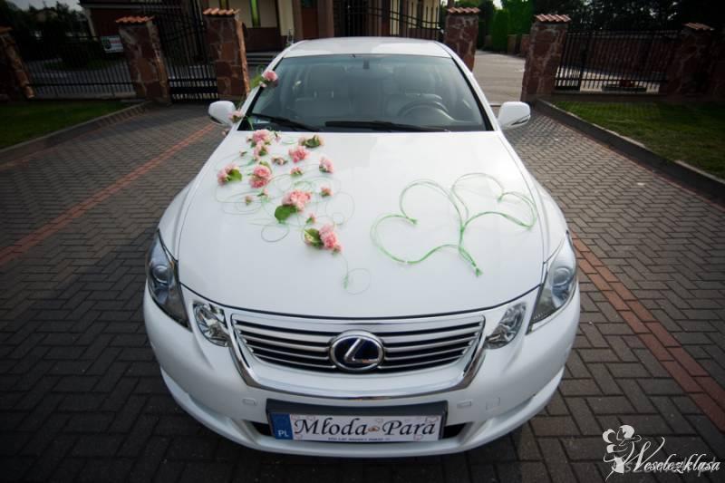 Auto do ślubu Lexus GS450h *Biała* perła, Płock - zdjęcie 1