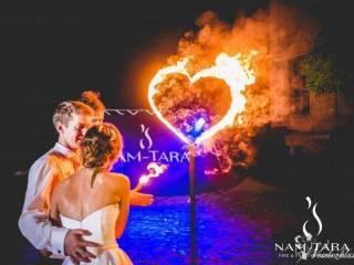 Nam-Tara Teatr Ognia | Fireshow | Taniec z ogniem | Pokazy Lightshow, Teatr ognia Katowice