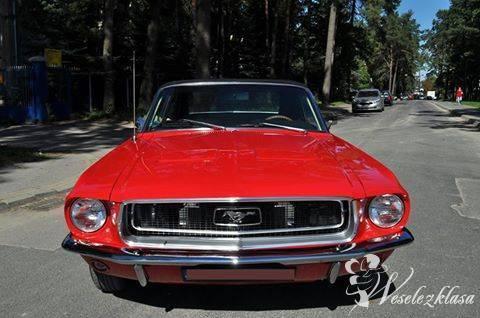Ford Mustang 1967 auto do ślubu, wesele, wynajem, slub samochód, Lublin - zdjęcie 1