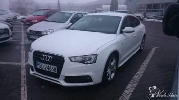 Luksusowe Audi A5, możliwość prowadzenia samemu, Samochód, auto do ślubu, limuzyna Rychwał