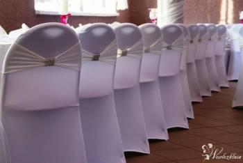 Elastyczne Pokrowce na Krzesła Ślubne , Artykuły ślubne Janów Lubelski