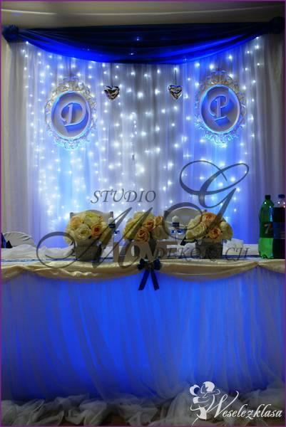 dekoracje światłem led sal weselnych , Lubartów - zdjęcie 1