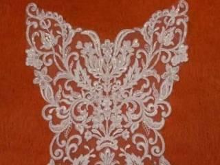 Koronki ślubne, aplikacje, hafty do sukni ślubnej, welony na zamówieni,  Gdynia
