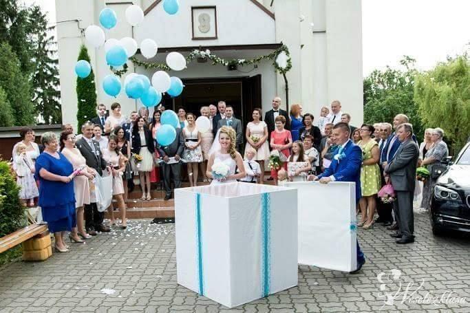 Prezent GIGANT z balonami. Balony napełnianie. Bal, Bydgoszcz - zdjęcie 1