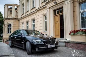 Luksusowy samochód BMW 7 na wesele!, Samochód, auto do ślubu, limuzyna Gniewkowo