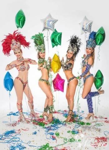 Samba brazylijska - pokazy, nauka tańca, animacje, Pokaz tańca na weselu Drobin