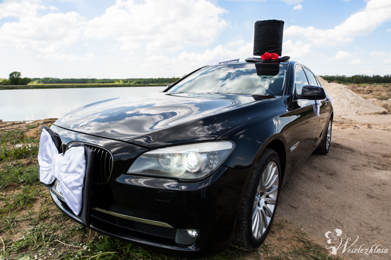 Auto do ślubu - Limuzyna ślubna - Auto ślubne BMW, Wrocław Lubin Legnica - zdjęcie 1