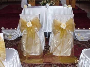Dekoracja Strojenie Kościoła ślub , Dekoracje ślubne Nowa Ruda