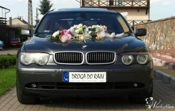 EKSKLUZYWNE BMW 7 DO ŚLUBU! , Samochód, auto do ślubu, limuzyna Knyszyn