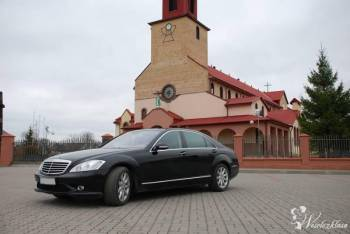Wynajmę Mercedes S klasa LONG Czarny Kremowe skóry, Samochód, auto do ślubu, limuzyna Szepietowo