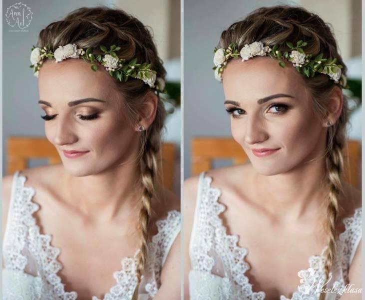 Profesjonalny makijaż ślubny, fotograficzny, Mysłowice - zdjęcie 1
