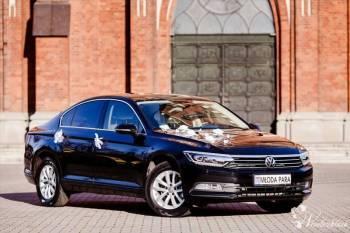 Luksusowy Volkswagen Passat B8 z jasną tapicerką!, Samochód, auto do ślubu, limuzyna Łódź
