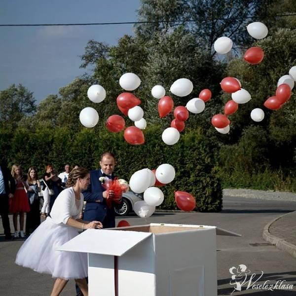Balony z helem w pudełku / balony świecące / Napis Love, Rzeszów - zdjęcie 1