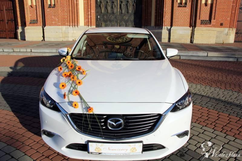 Auto do ślubu MAZDA 6 *biała* perła z dekoracją!!!, Rybnik - zdjęcie 1