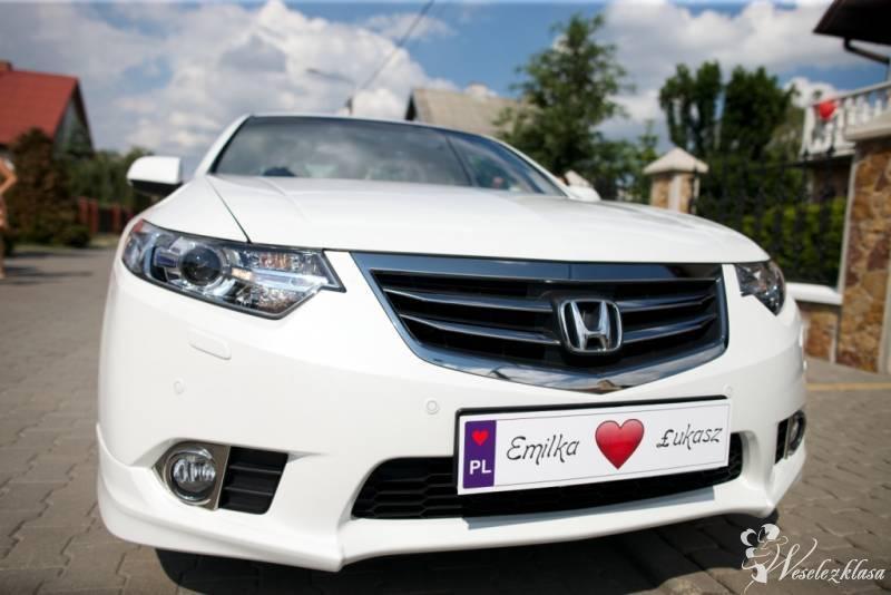 Auto Samochód do Ślubu Honda *Biała* Perła Accord, Łowicz - zdjęcie 1