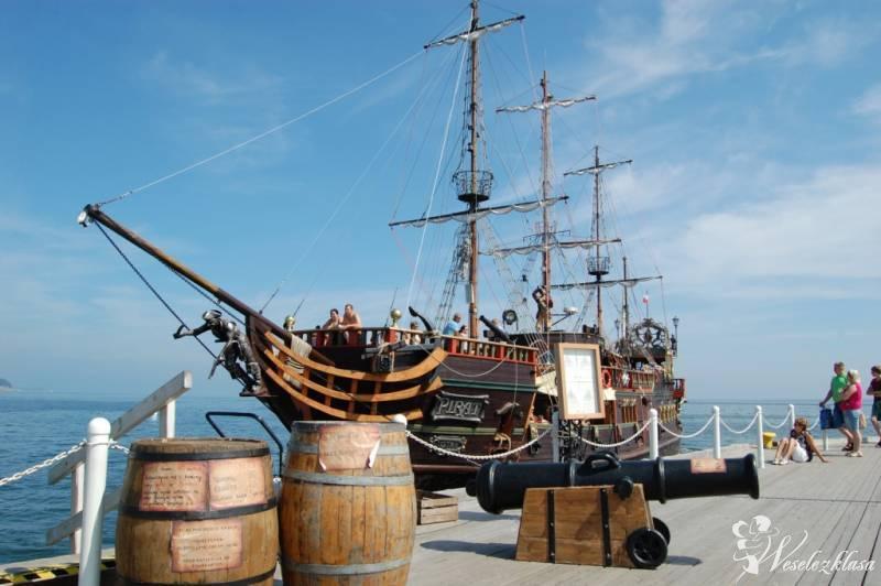 Statek Pirat wesele, zaślubiny, poprawiny, sesja , Ustka - zdjęcie 1