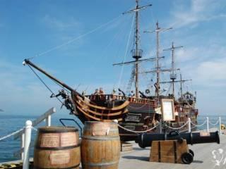Statek Pirat wesele, zaślubiny, poprawiny, sesja ,  Ustka
