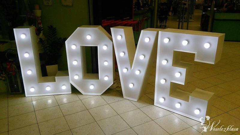Napis LOVE, wynajem liter, super dekoracja, Starachowice - zdjęcie 1