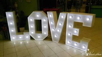 Napis LOVE, wynajem liter, super dekoracja, Napis Love Jędrzejów