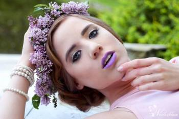 Makijaż na wyjątkowy dzień ;), Makijaż ślubny, uroda Węgrów