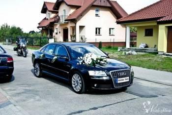 WYNAJEM LUKSUSOWE AUDI A8 NA SLUB, WESELE POLECAMY, Samochód, auto do ślubu, limuzyna Nowe Miasto Lubawskie