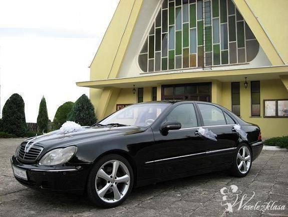 Mercedes S (Long) wyjątkowe auto w wyjątkowym dniu, Wrocław - zdjęcie 1