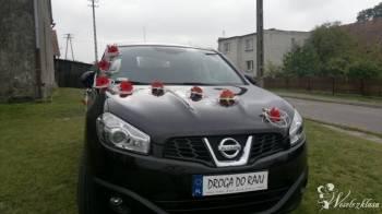 Samochód do ślubu,na wesele SUV NISSAN QASHQAI  , Samochód, auto do ślubu, limuzyna Mrągowo