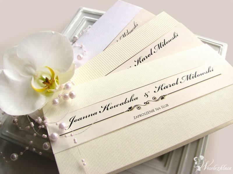 Zaproszenie i zawiadomienie ślubne, fotografia, Olsztyn - zdjęcie 1