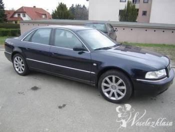 Wesele-zawiozę, Limuzyna Audi A8  Akordeon Gratis, Samochód, auto do ślubu, limuzyna Mońki