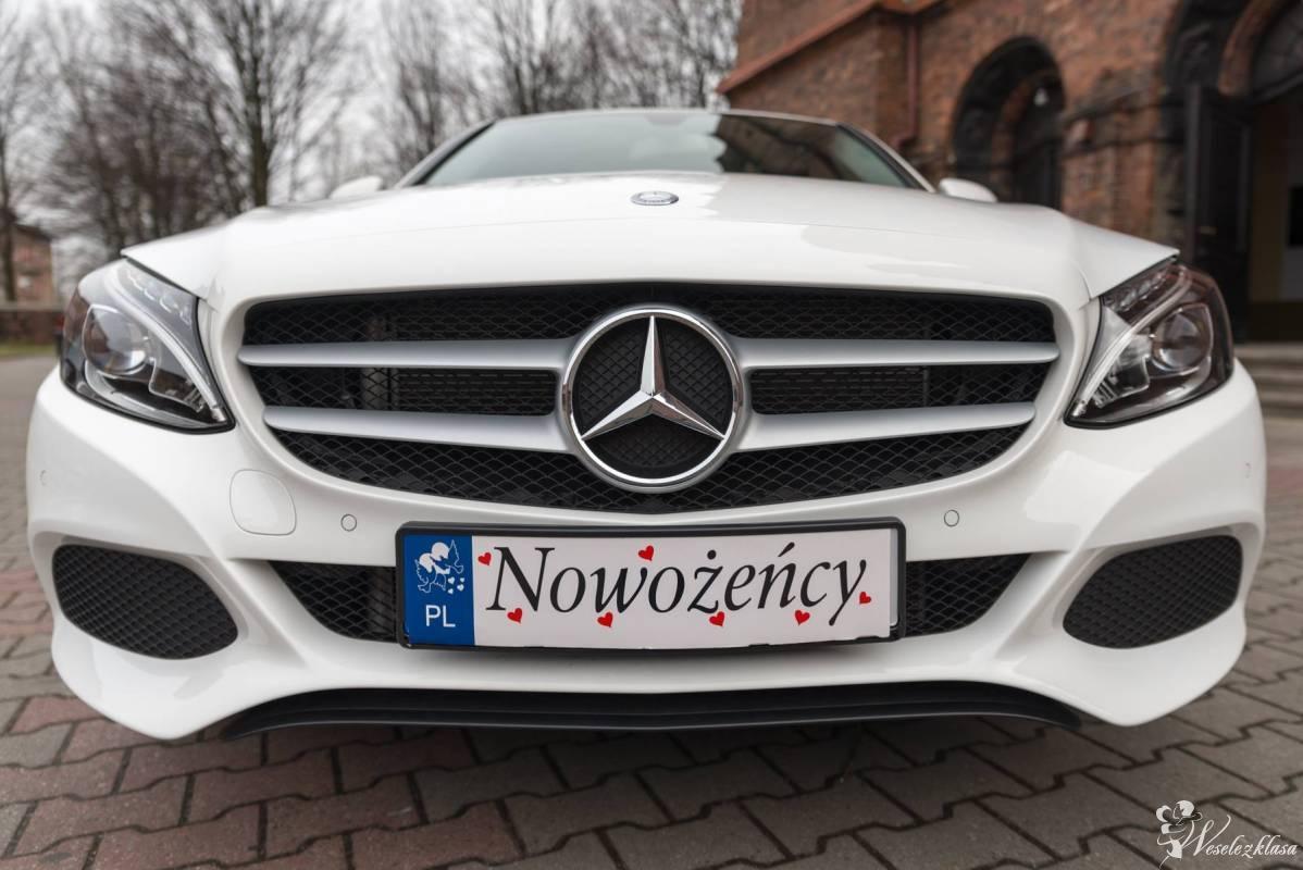 Auto na Wesele ,Tanio , MERCEDES C KLASA *biała* perła !!!, Chorzów - zdjęcie 1