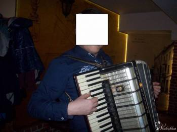 Dj grający na akordeonie i śpiewający, DJ na wesele Tomaszów