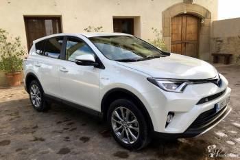Auto do ślubu - nowa Toyota RAV 4 *biała* perła 120 zł/h, Samochód, auto do ślubu, limuzyna Trzebnica