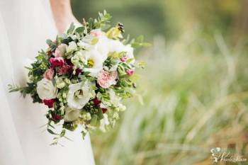 Florystyka ślubna , bukiety, kwiaty, dekoracje, biały dywan, pokrowce,, Dekoracje ślubne Bobowa