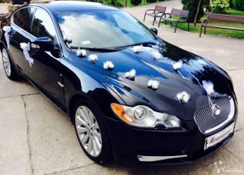 Czarny Jaguar XF - premium luxury, Samochód, auto do ślubu, limuzyna Białystok