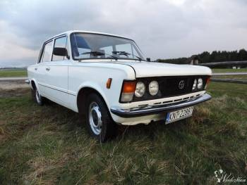 Duży Fiat 125p do ślubu - Podhale, Samochód, auto do ślubu, limuzyna Nowy Targ